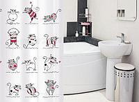 Шторы и карнизы для ванной