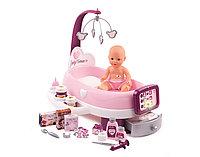 Набор по уходу за куклой Smoby Baby Nurse с планшетом и аксессуарами, свет и звук
