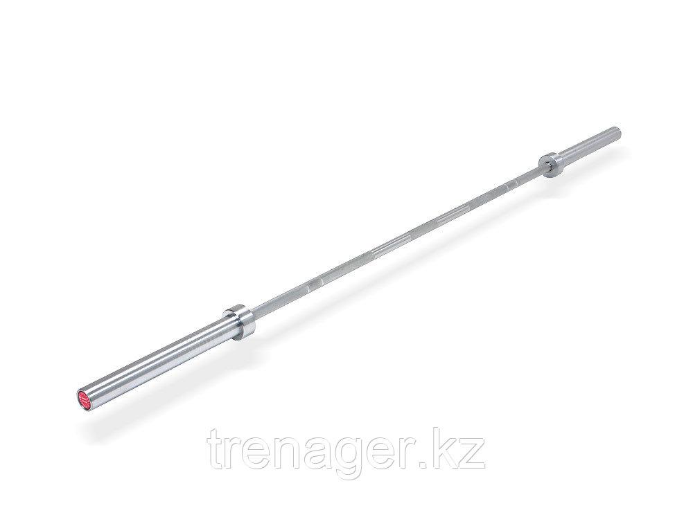 Гриф для кросс-тренинга олимпийский прямой 2200 мм, до 679 кг, с упорными подшипниками