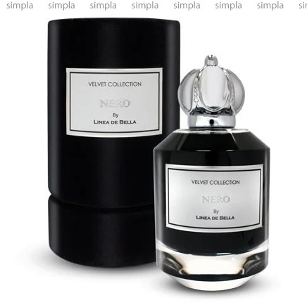 Linea De Bella Velvet Collection Nero парфюмированная вода объем 100 мл (ОРИГИНАЛ)