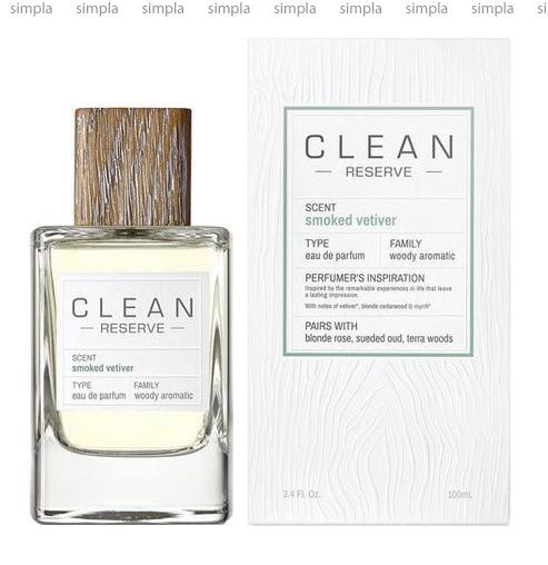 Clean Smoked Vetiver парфюмированная вода объем 100 мл (ОРИГИНАЛ)