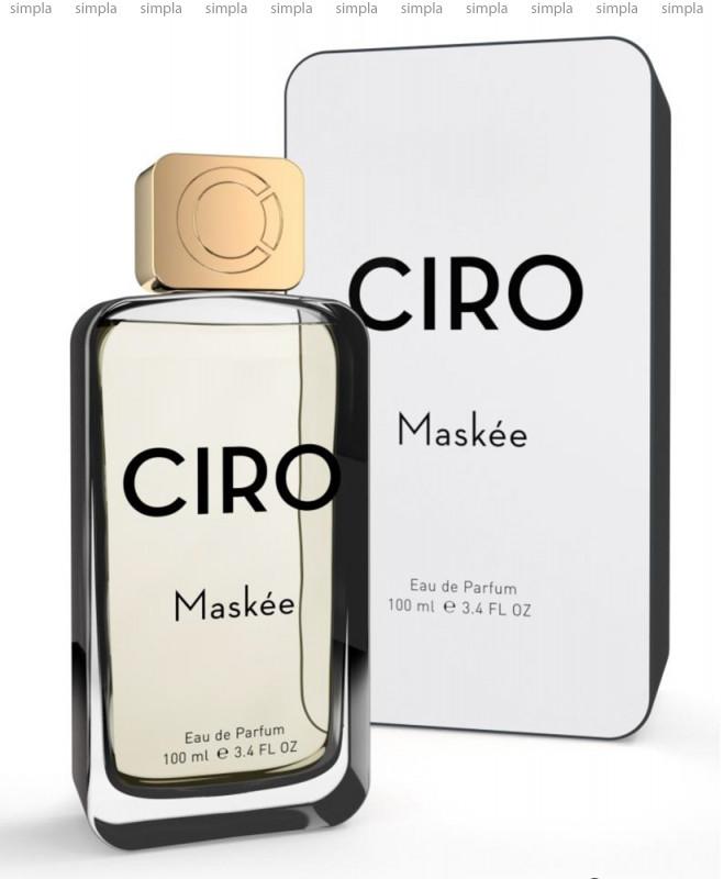 Parfums Ciro Maskee парфюмированная вода объем 100 мл (ОРИГИНАЛ)
