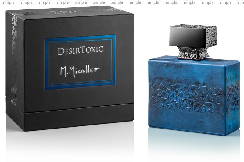 M. Micallef Desir Toxic парфюмированная вода объем 100 мл (ОРИГИНАЛ)
