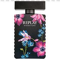 Replay Signature for Women парфюмированная вода объем 50 мл тестер (ОРИГИНАЛ)