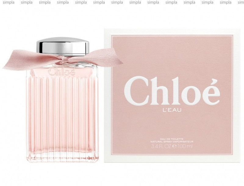 Chloe L`eau Eau de Toilette туалетная вода объем 100 мл тестер (ОРИГИНАЛ)