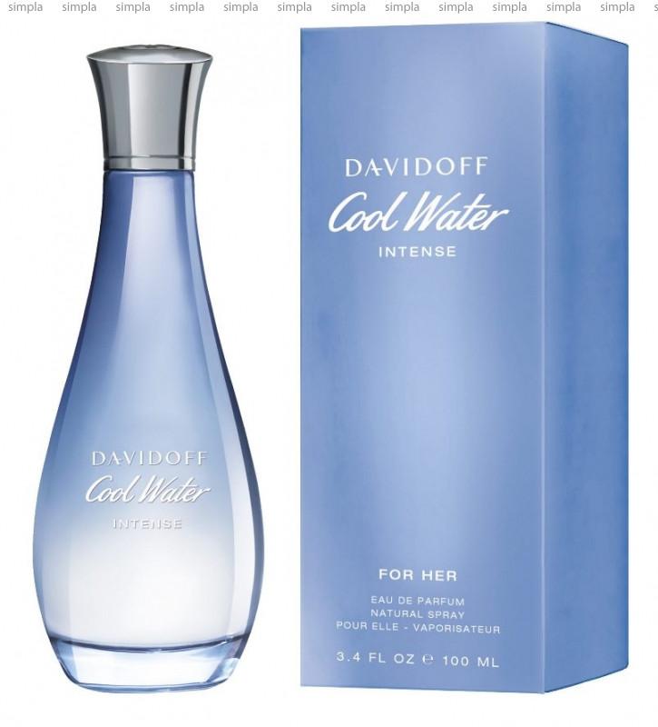 Davidoff Cool Water Intense for Her парфюмированная вода объем 30 мл тестер (ОРИГИНАЛ)