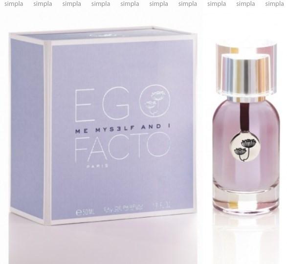 Egofacto Me Myself & I парфюмированная вода объем 50 мл (ОРИГИНАЛ)