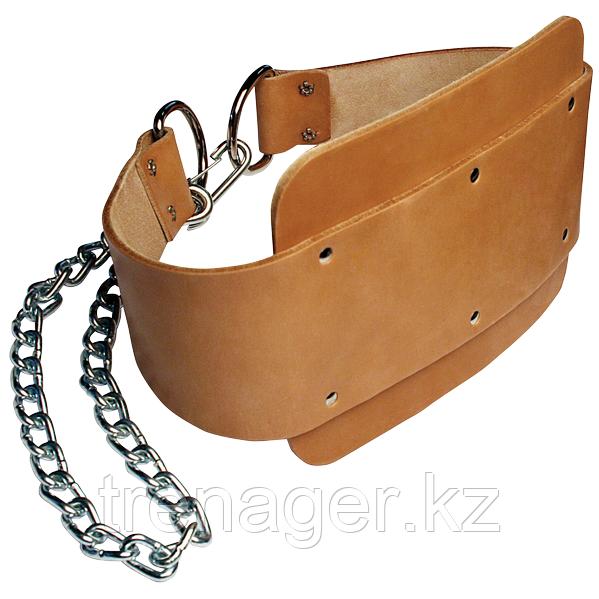 Ремень для подвешивания отягощений к поясу кожаный Body-Solid