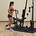 Ремень для тренировки мышц бедра и ягодиц, нейлон с шерстяной подкладкой, фото 3