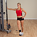 Ремень для тренировки мышц бедра и ягодиц, нейлон с шерстяной подкладкой, фото 4