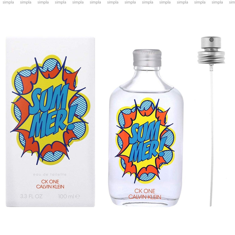Calvin Klein CK One Summer 2019 туалетная вода объем 100 мл тестер (ОРИГИНАЛ)