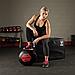 Тренировочный мяч мягкий WALL BALL 2,7 кг (6lb), фото 2