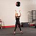 Тренировочный мяч мягкий WALL BALL 6,4 кг (14lb), фото 6