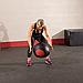 Тренировочный мяч мягкий WALL BALL 6,4 кг (14lb), фото 7
