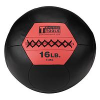 Тренировочный мяч мягкий WALL BALL 7,3 кг (16lb)