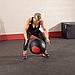 Тренировочный мяч мягкий WALL BALL 9,1 кг (20lb), фото 8