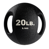 Тренировочный мяч с хватами 9,1 кг (20lb)