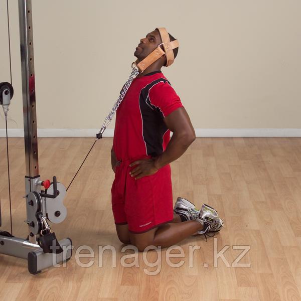 Упряжь для тренировки мышц шеи кожаная - фото 3