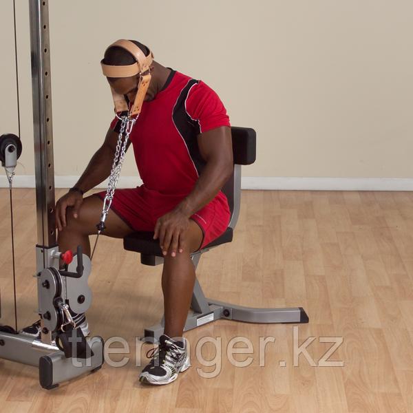 Упряжь для тренировки мышц шеи кожаная - фото 4