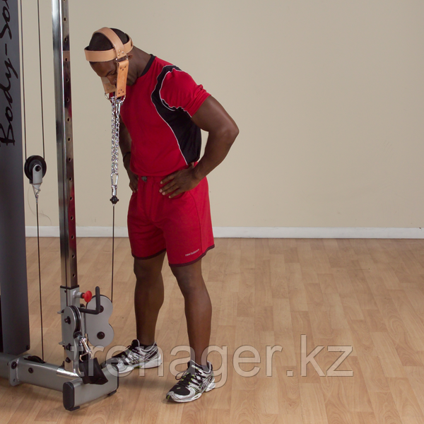 Упряжь для тренировки мышц шеи кожаная - фото 6