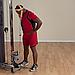Упряжь для тренировки мышц шеи кожаная, фото 6