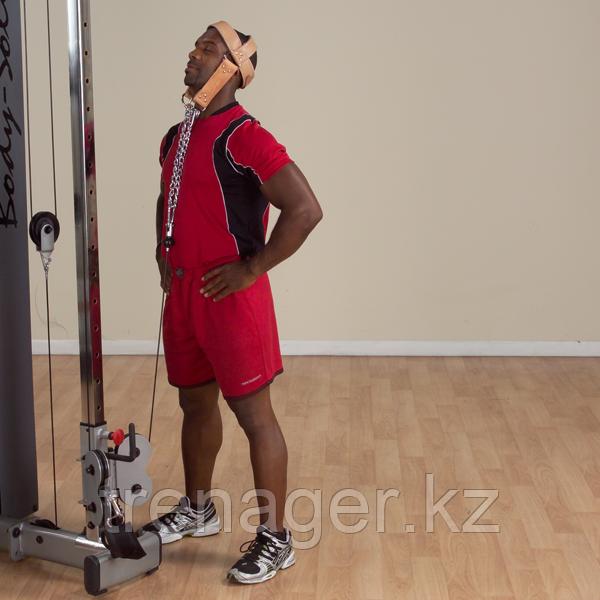 Упряжь для тренировки мышц шеи кожаная - фото 7