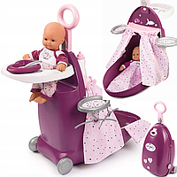 Набор для кормления и сна пупса Smoby Baby Nurse в чемодане, фото 1