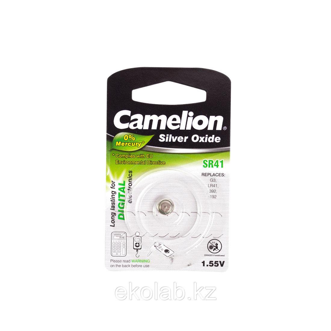 Батарейка CAMELION Silver Oxide SR41