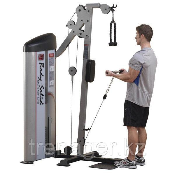 Бицепс/Трицепс машина с весовым стеком 72,5 кг