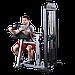 Блочный тренажер бицепс-трицепс с весовым стеком 95 кг, фото 2