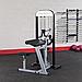 Блочный тренажер бицепс-трицепс с весовым стеком 95 кг, фото 9