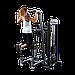 Блочный тренажер турник-брусья-отжимания с противовесом Body-Solid FCD-STK с весовым стеком 95 кг, фото 2