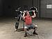 Вертикальный жим сидя Body-Solid LVSP на свободном весе, фото 7