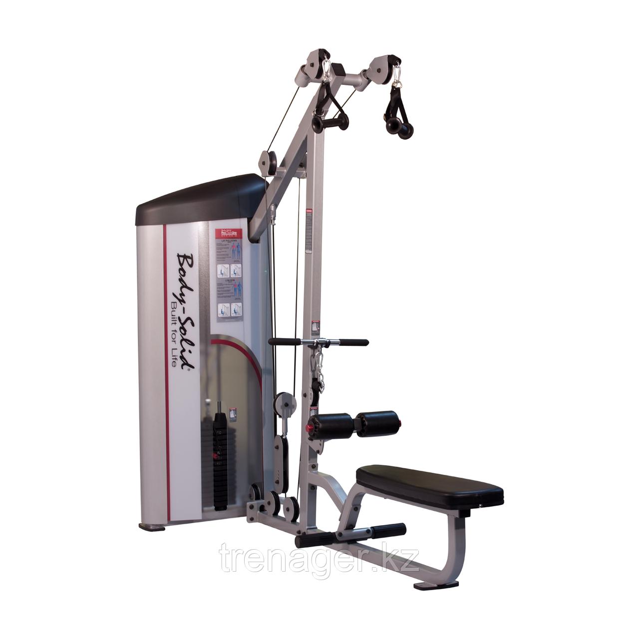 Верхняя и нижняя тяга с весовым стеком 72,5 кг