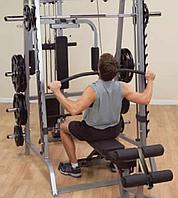 Верхняя \ нижняя тяга с весовым стеком 95 кг для машины Смита GS348Q