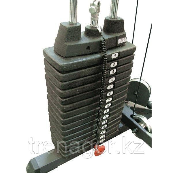 Весовой стек 136 кг (20 плашек)