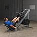 ГАКК-машина - жим ногами под углом 45 Body-Solid GLPH1100 на свободном весе, фото 4