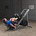 ГАКК-машина - жим ногами под углом 45 Body-Solid GLPH1100 на свободном весе, фото 6