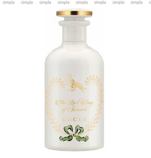 Gucci The Last Day Of Summer Eau de Parfum парфюмированная вода объем 100 мл (ОРИГИНАЛ)