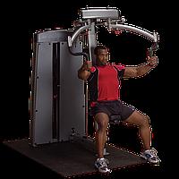 Двухпозиционный тренажер для грудных и дельтовидных мышц Body-Solid DPEC-SF