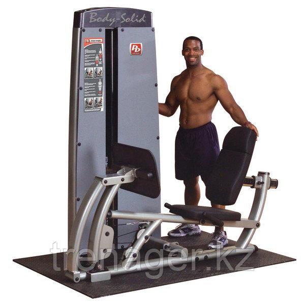Двухпозиционный тренажер для жима ногами и тренировки икроножных мышц Body-Solid DCLP-SF