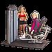 Двухпозиционный тренажер для приводящих и отводящих мышц бедра Body-Solid DIOT-SF, фото 4