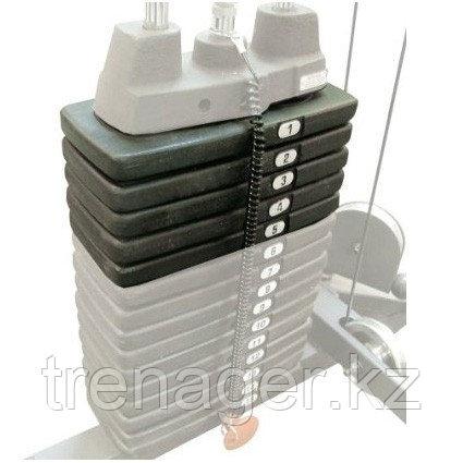 Дополнительный груз к стеку 22,5 кг ОПЦИЯ для тренажера SP10