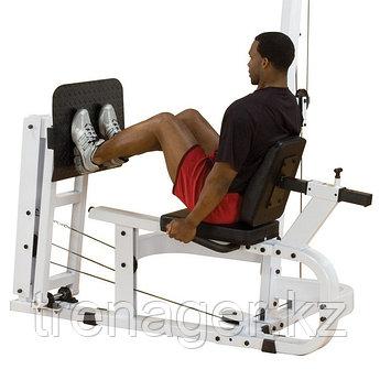 Жим ногами горизонтальный для Body-Solid EXM4000S в комплекте со стеком 95 кг