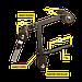 Керл для ног для Body-Solid GFID71, фото 7