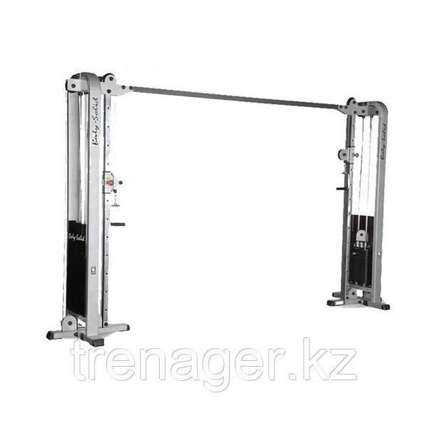 Кроссвер PRO CLUB LINE с двумя весовыми стеками 75 кг