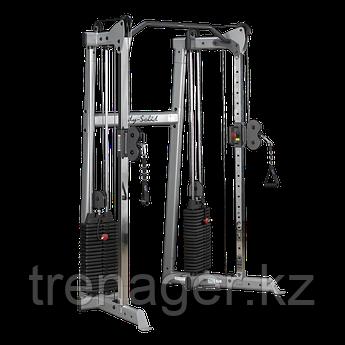 Кроссовер угловой с двумя весовыми стеками по 72,5 кг