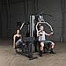 Мультистанция Body-Solid G9U с двумя весовыми стеками, фото 3