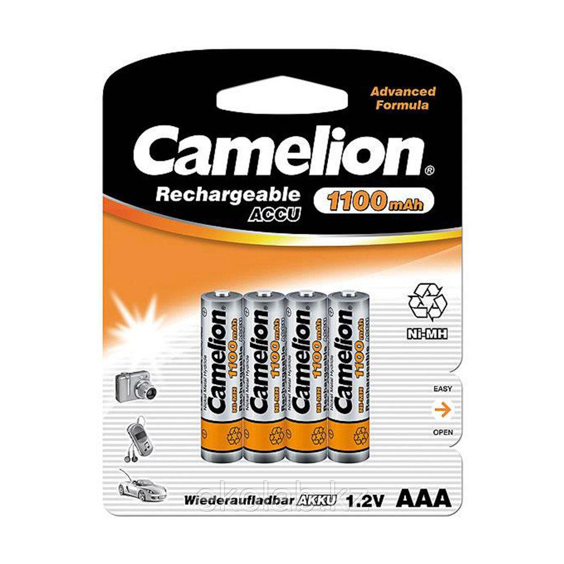 Аккумулятор CAMELION Lockbox Rechargeable Ni-MH NH-AAA1100BP4 4 шт