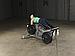 Сгибание ног лежа Body-Solid LVLC на свободном весе, фото 10